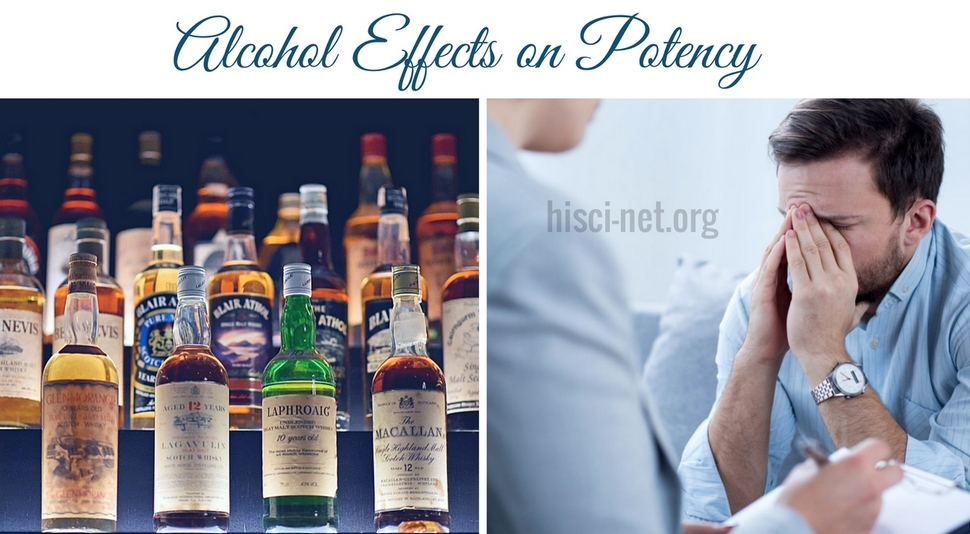 Alcohol Effects on Potency